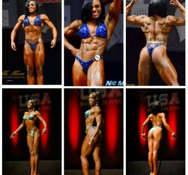 Nicole Moore - Muscle Gain - Maryland NPC Womens Physique Competitor
