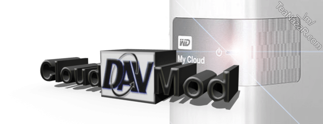CloudDAVMod v1.0 for WD My Cloud firmware V4