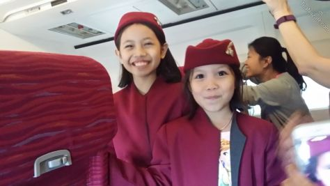 Adorable cabin crews