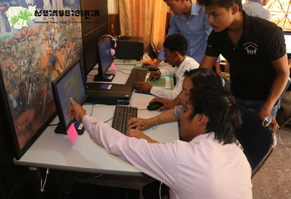 Hands on training at the STT computer lab