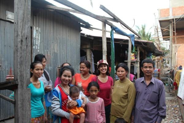 Satrei Samaki Meanchey community members