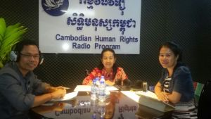 "Radio Talk Show: ""Land Grabbing in Cambodia"""