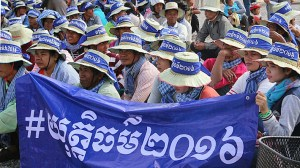 Thousands Celebrating International Human Rights Day across Cambodia