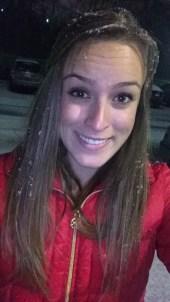 Snowflakes in my hair