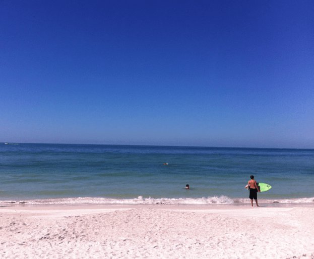 Anna Maria is quieter than Clearwater!