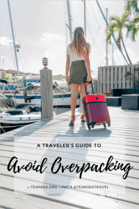 A Traveler's Guide to Avoid Overpacking