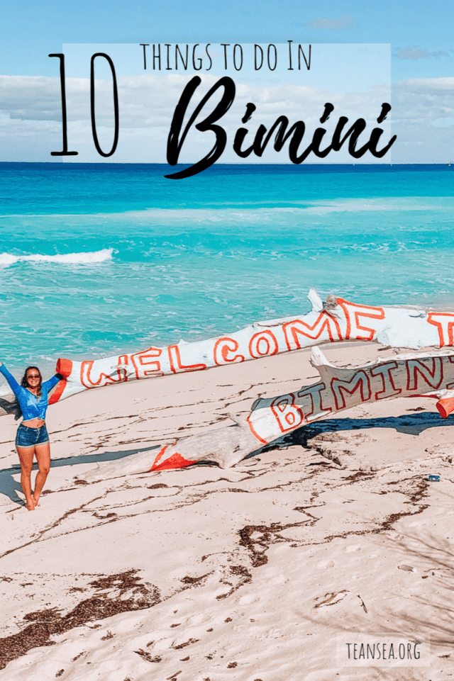 10 things to do in Bimini
