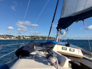 sailing in Torbay