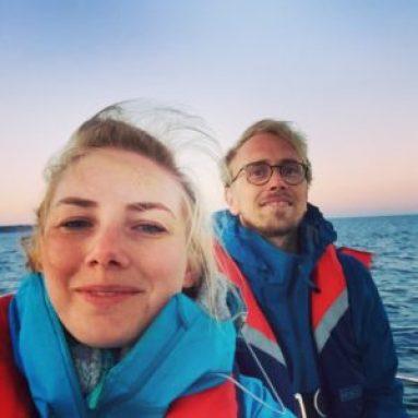 Tea on the sea sailing