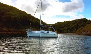 torquay devon sailing boat