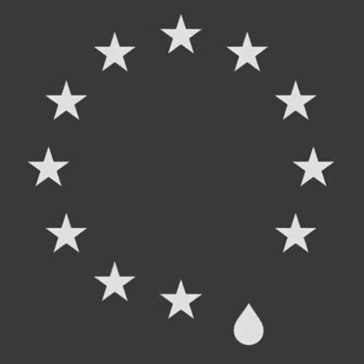 Teardrop EU Flag