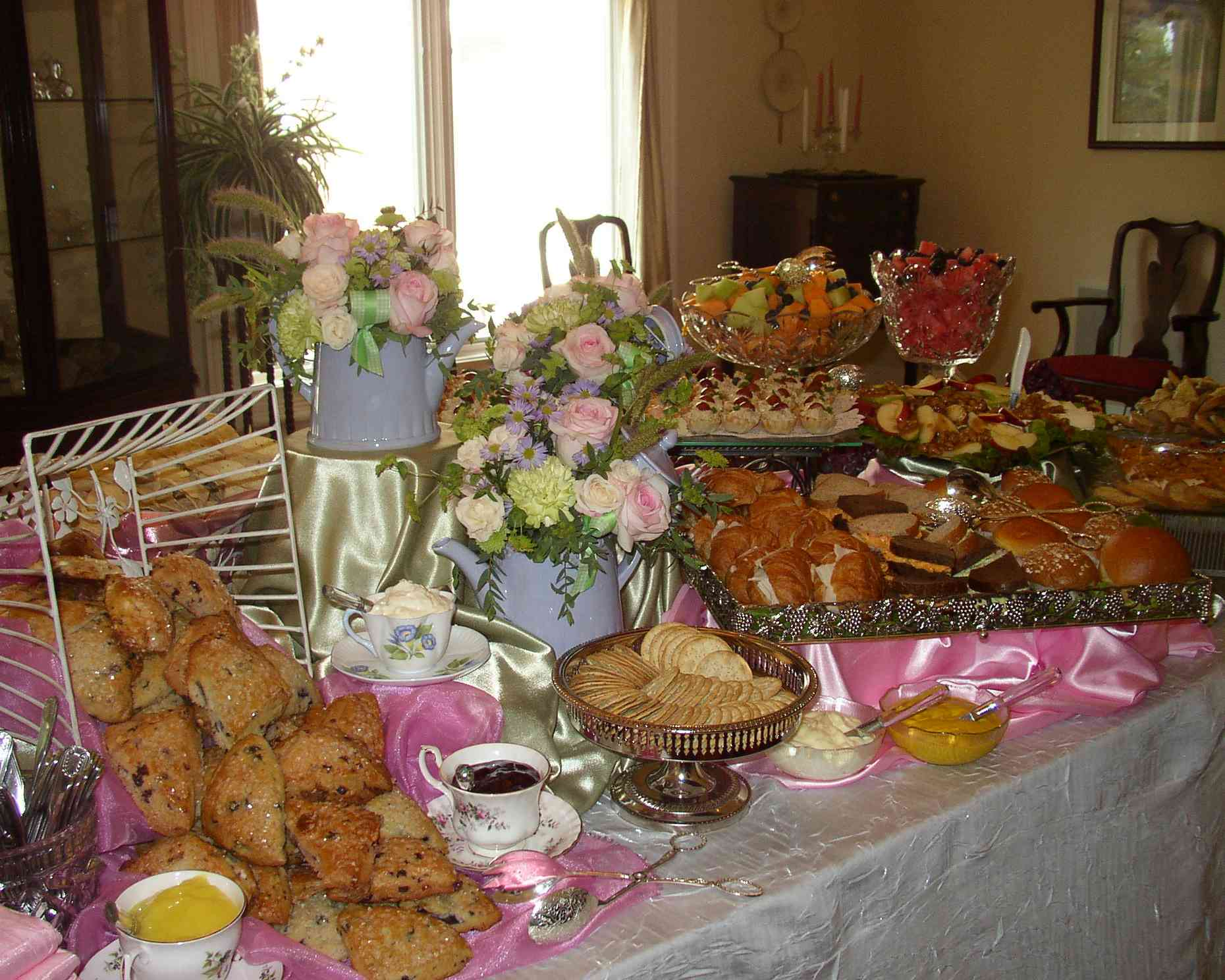 How To Prepare A Tea Party For A Crowd TEA PARTY GIRL