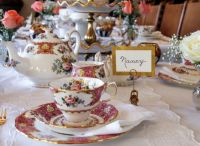 how to set a table for tea party  Loris Decoration