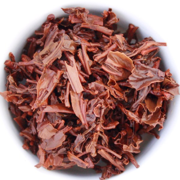 Assam Loose Leaf Black Tea Wet Leaf