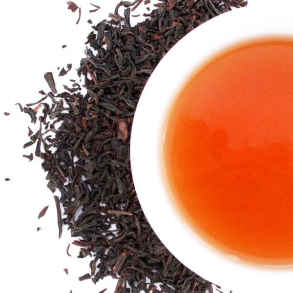Black Loose Leaf Tea Brewed Tea