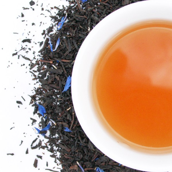 Earl Grey Loose Leaf Black Tea brewed tea