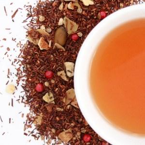 Gingerbread Orange Rooibos brewed tea