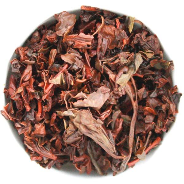 Oolong Loose Leaf Tea wet leaf