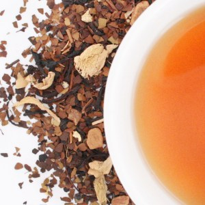 Roasted Maté Chai brewed tea