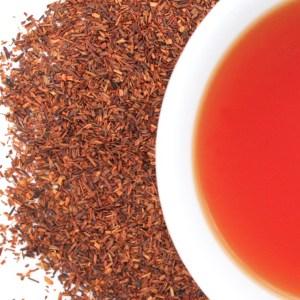 Organic Rooibos Red Tea brewed tea