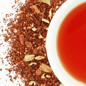 Ruby Red Chocolate Chai brewed tea