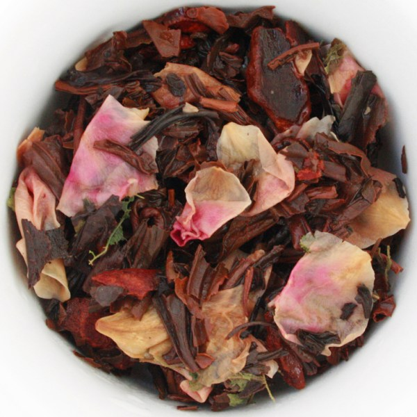Sugardoodle loose leaf black tea wet leaves