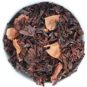 Sugardoodle Loose Leaf Black Tea wet leaf