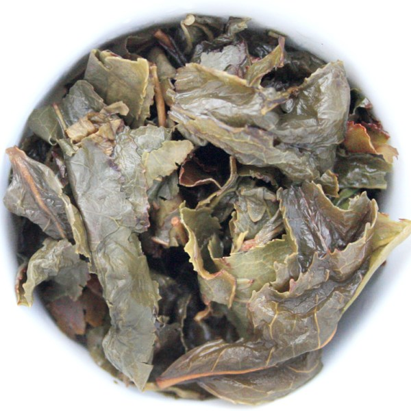 Tea Phactory Loose Leaf Oolong Tea wet leaf