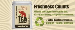 Tea Phactory Tea Tin