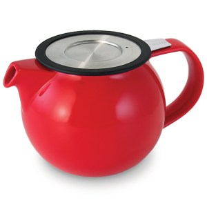 Wholeleaf Teapot Red