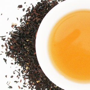 Black Currant Loose Leaf Black Tea brewed tea