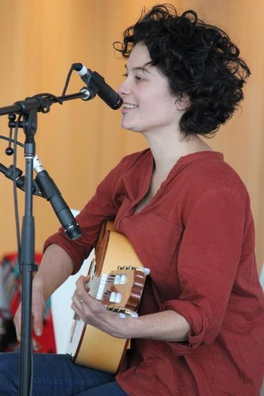 Karina singing