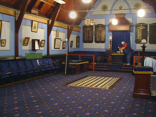 Lyttelton Masonic Lodge Interior Mens Clubs Te Ara