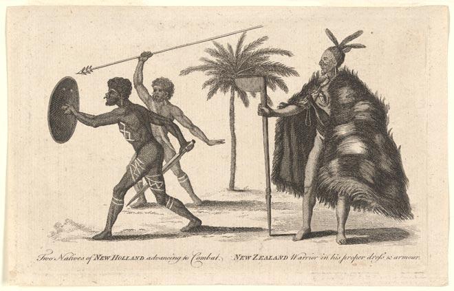 Australian Aboriginal And Māori Warriors – Body Shape And