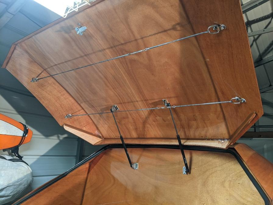 Galley Hatch Lid Fix