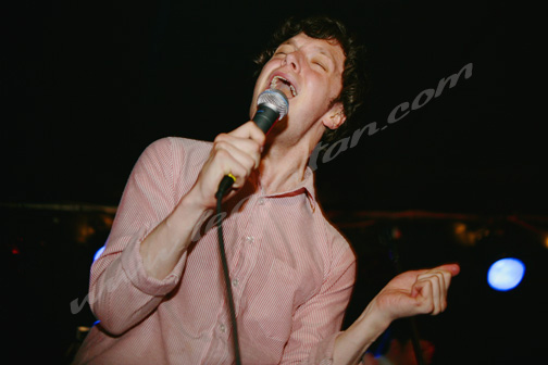 Friendly Fires at Mecury Lounge, NYC