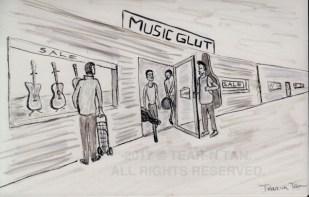 Groceries or guitars? #priorities