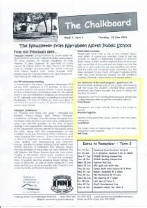 Narrabeen North Public School Newsletter