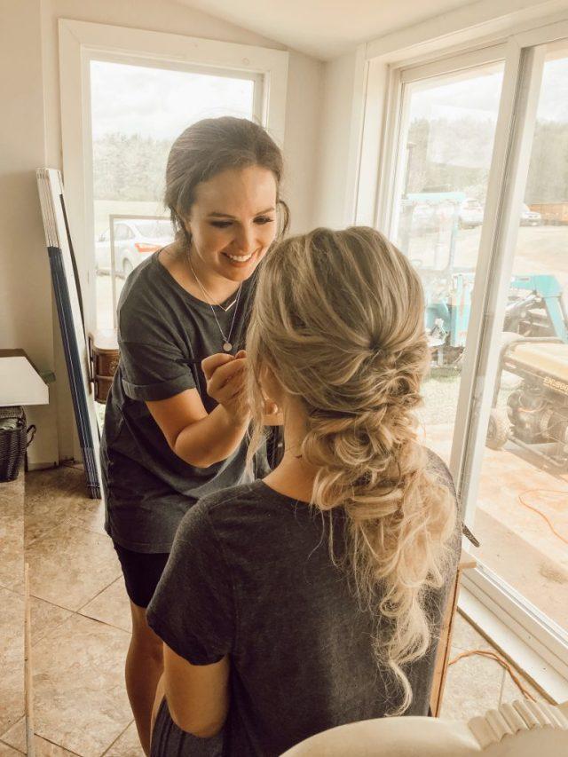 wedding makeup artist + hair stylist | central new york | bridal