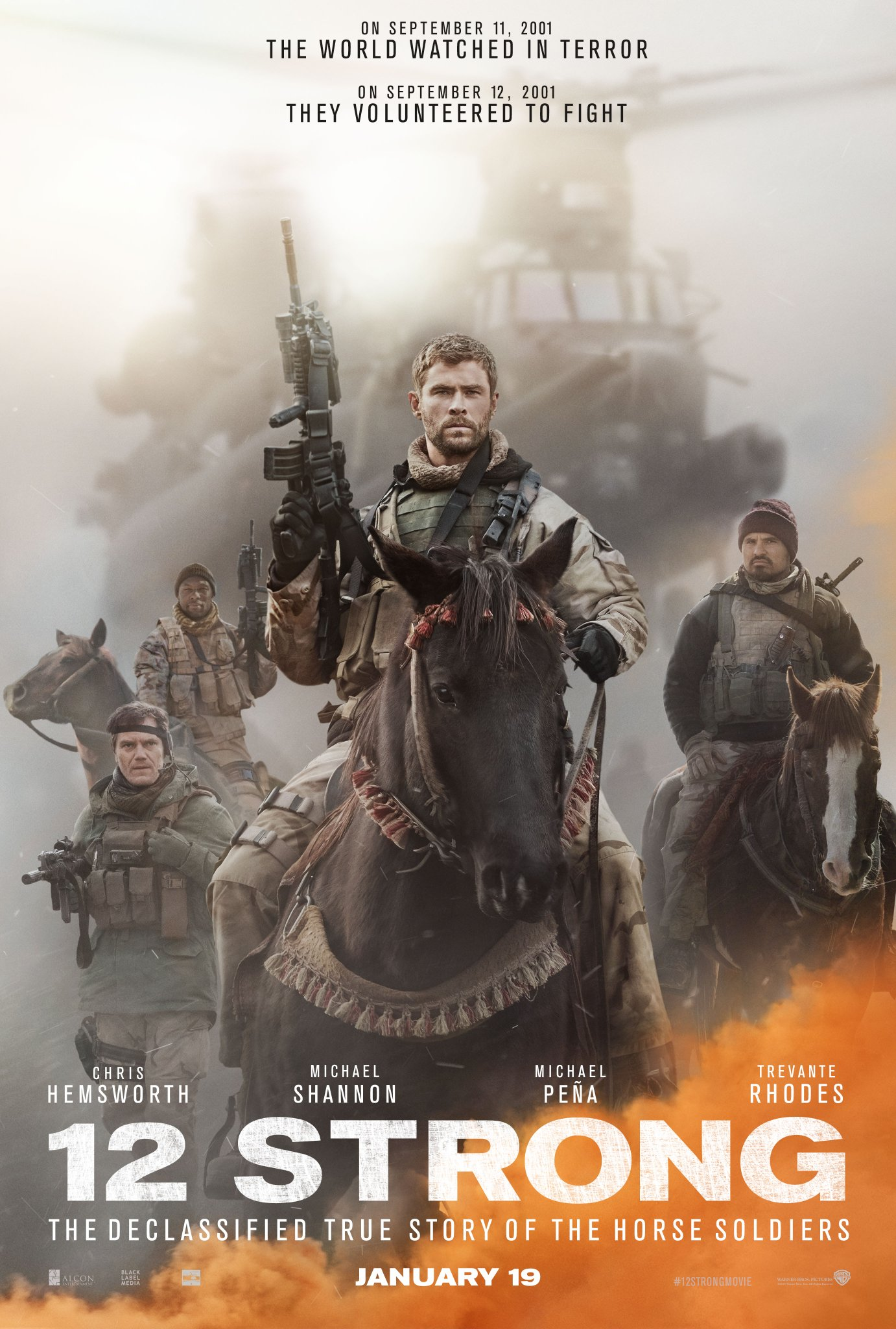 Image result for 12 strong movie poster