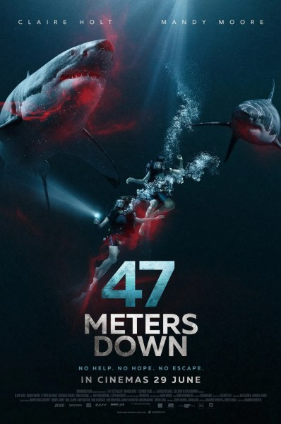 47 Meters Down Malaysian Poster