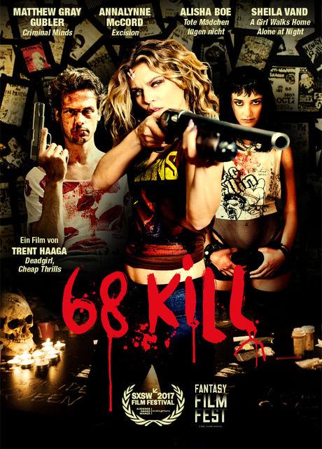Resultado de imagen para 68 Kill movie poster