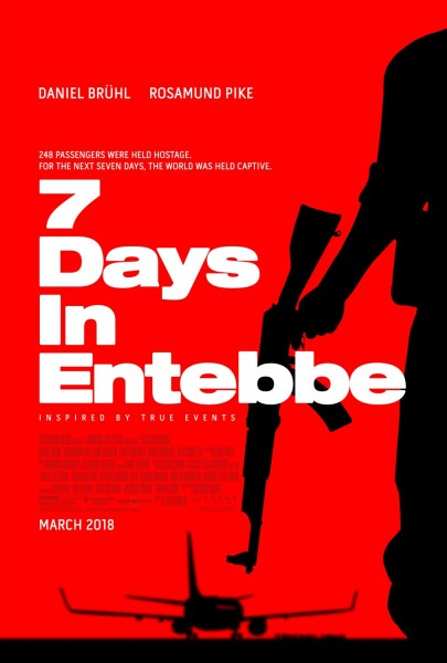 7 Days In Entebbe New Poster