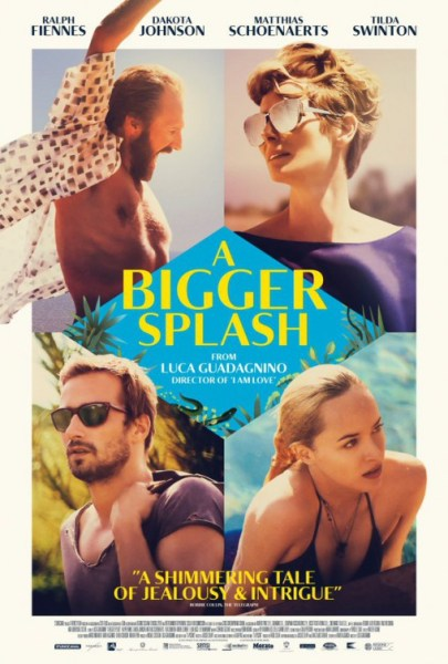 A Bigger Splash new poster