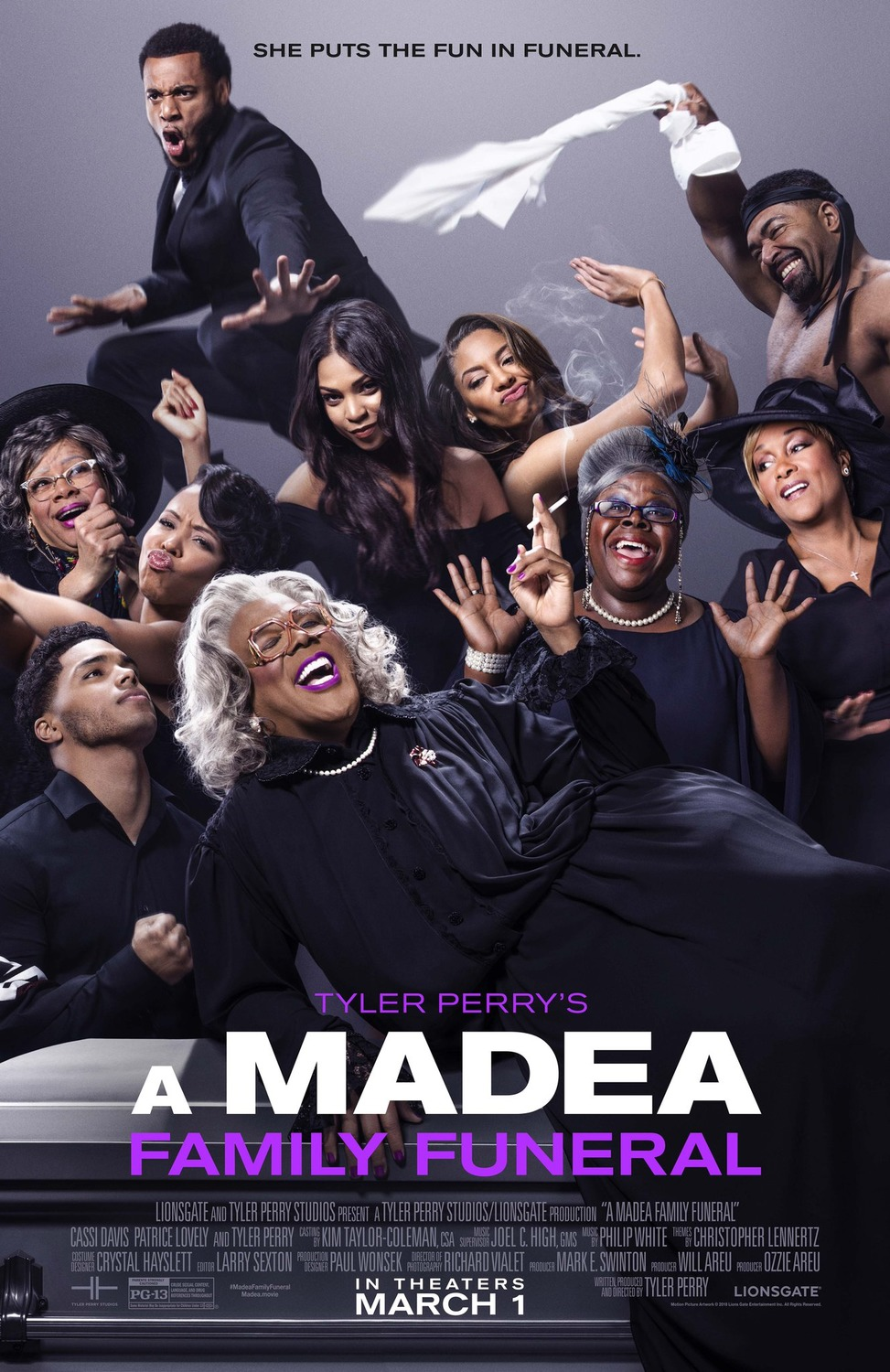 A Madea Family Funeral Movie – She puts the fun in funeral ...