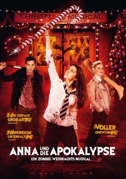 ANNA AND THE APOCALYPSE German Poster