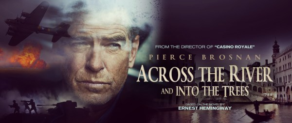 Accross The River And Into The Trees Movie Poster
