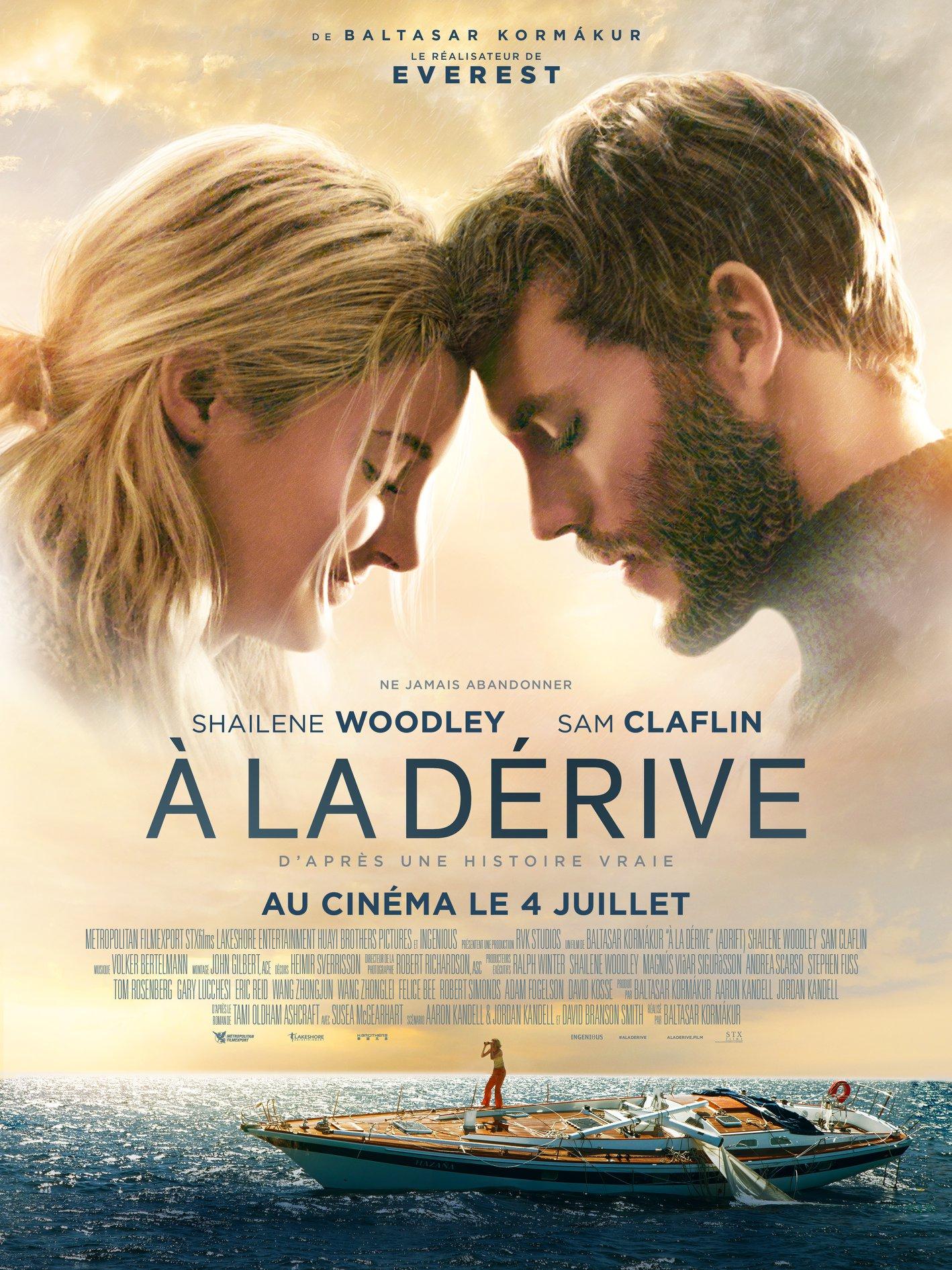 adrift poster   teaser trailer