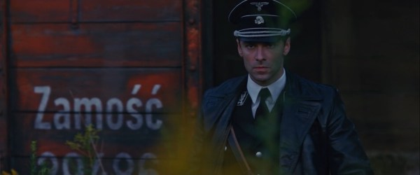 Aidan Turner in the movie The Man Who Killed Hitler And Then The Bigfoot