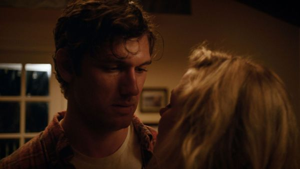 Back Roads Movie - Alex Pettyfer as Harley Altmyer and Jennifer Morrison as Callie Mercer in the dramatic thriller Back Roads.